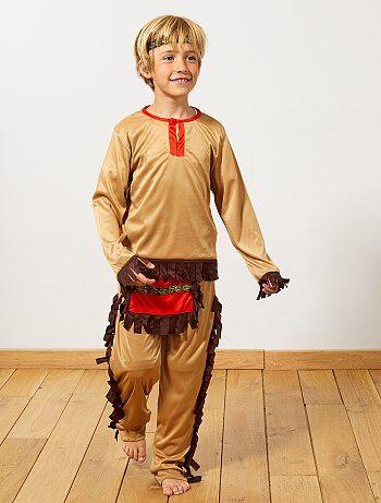 Costume indiano                             marrone Bambini