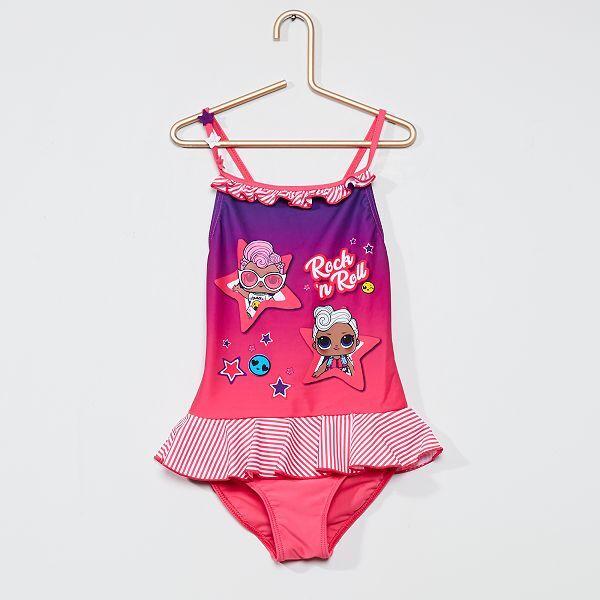 Costume Intero Lol Surprise Bambina 3 12 Anni Rosa Kiabi 10 00
