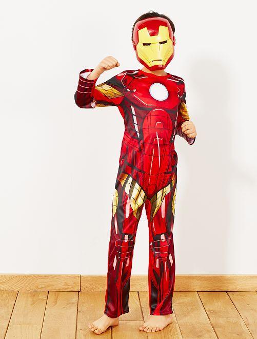 Costume 'Iron Man'                             rosso/giallo Bambini