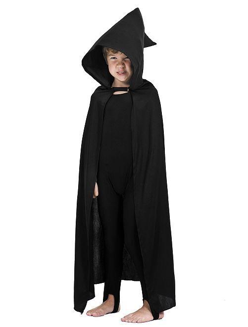 Costume mantello da stregone                             nero