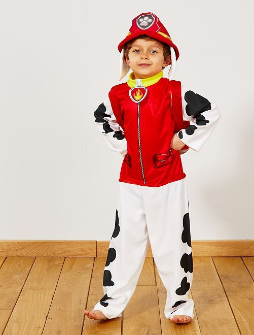 Costume 'Marshall' 'Paw Patrol'                             ROSSO Bambini