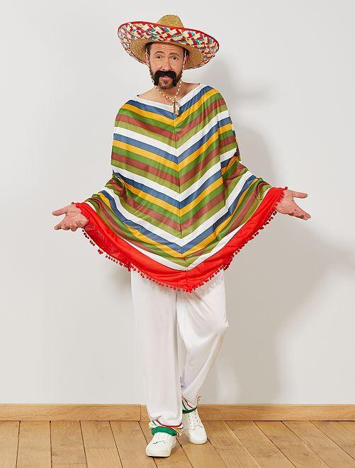 Costume messicano multicolore Uomo