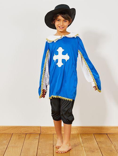 Costume moschettiere                             blu