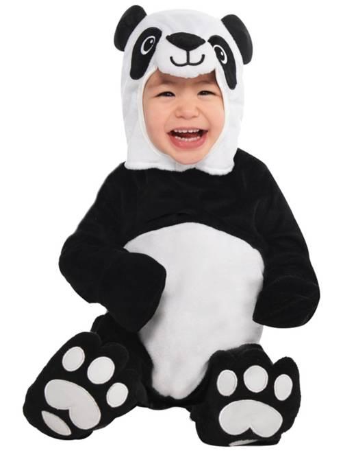 Costume panda                             nero/bianco