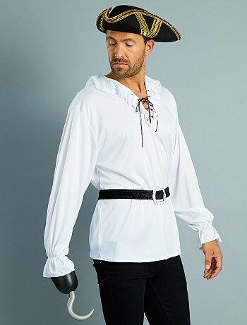Uomo - Costume pirata camicia + cintura - Kiabi