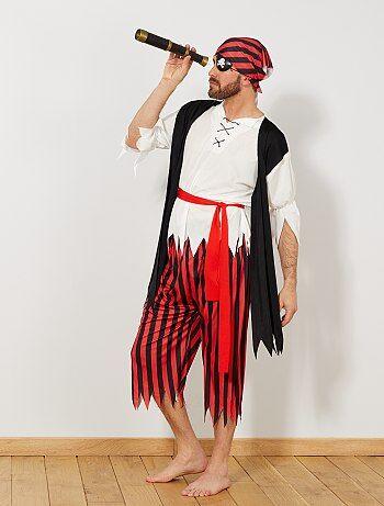 Uomo - Costume pirata - Kiabi