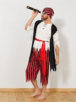 Travestimenti uomo nero - Costume pirata - Kiabi