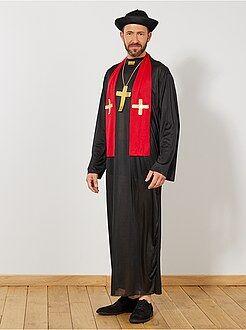 Travestimenti uomo - Costume prete - Kiabi