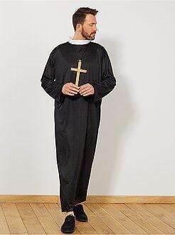 Travestimenti uomo nero - Costume prete - Kiabi