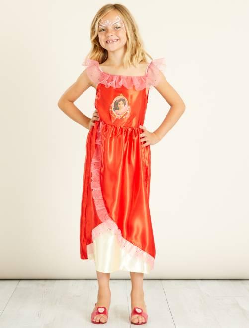 Costume principessa 'Elena d'Avalor'                             rosso Bambini