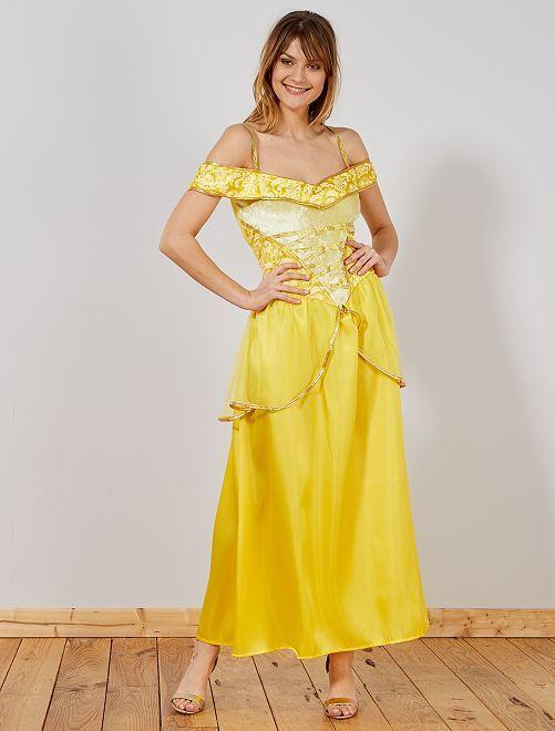 Costume principessa                             giallo