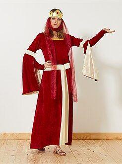 Donna Costume principessa medievale