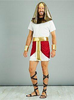 Uomo Costume re egiziano