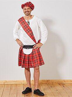 Travestimenti uomo - Costume scozzese