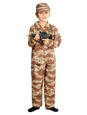 Bambini - Costume soldato - Kiabi