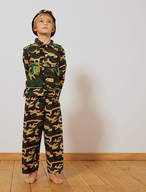 Costume soldato                             kaki