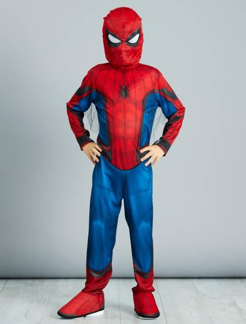 Costume 'Spider-Man'                             bleu/rouge Bambini