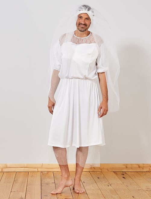 Costume sposa                             bianco Uomo