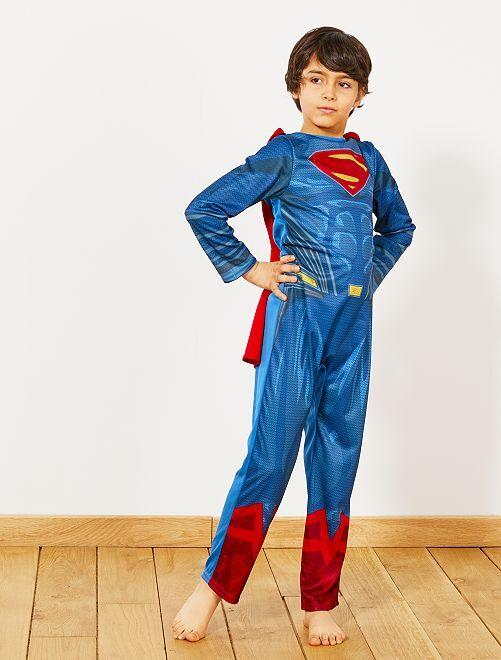 Costume 'Superman'                             blu/rosso Bambini