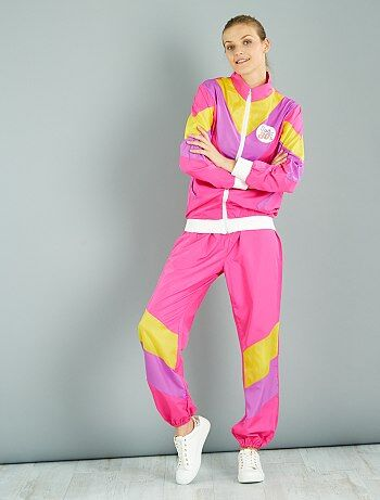 Donna - Costume tuta anni 80 - Kiabi