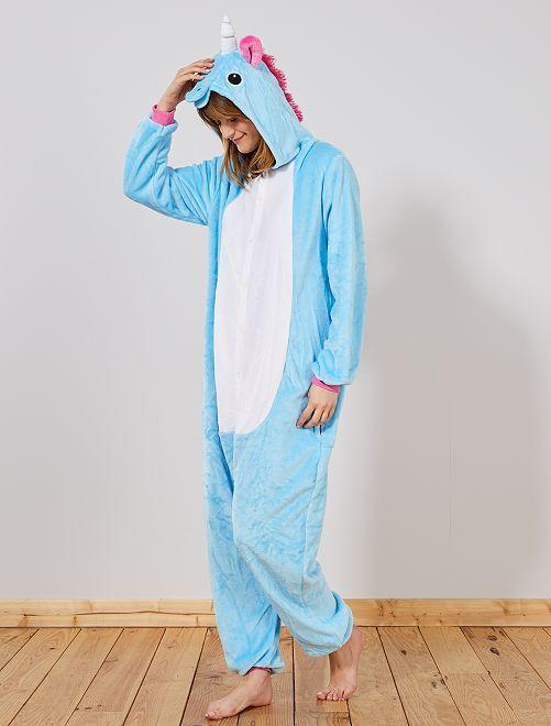 Costume tuta 'unicorno'                             blu