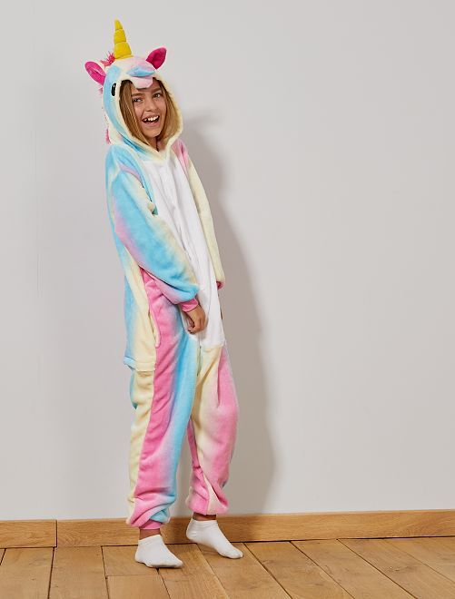 Costume tuta unicorno                             multicolore