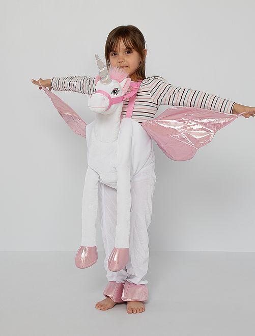 Costume 'Unicorno' 3D                             rosa bianco