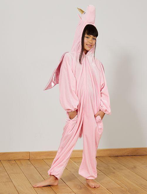 Costume unicorno                             rosa Bambini