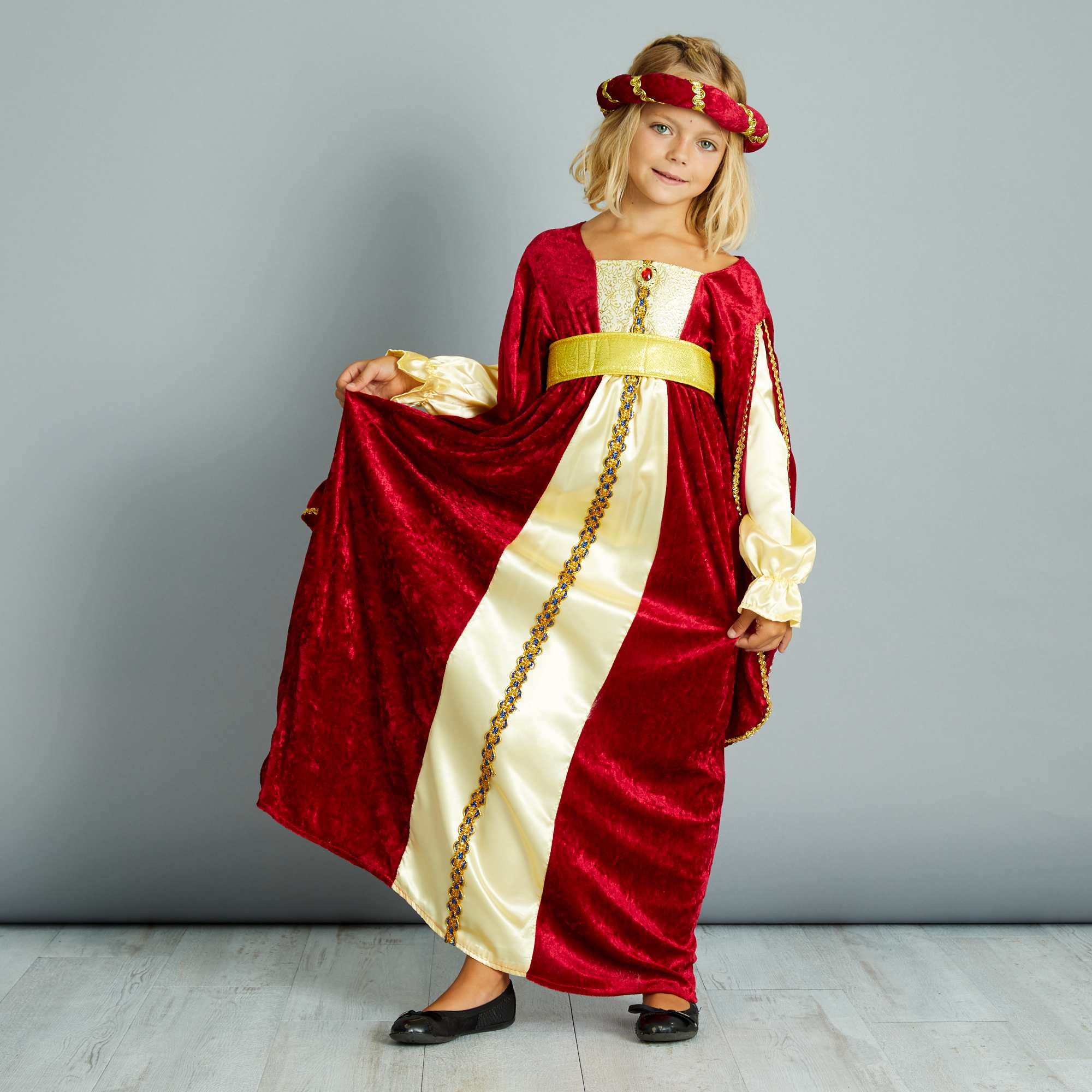 carina super economico 2019 reale Costumi da bagno per bambine Costume vestito medievale