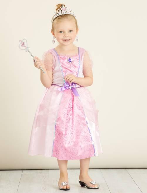 Costume vestito principessa                             ROSA Bambini
