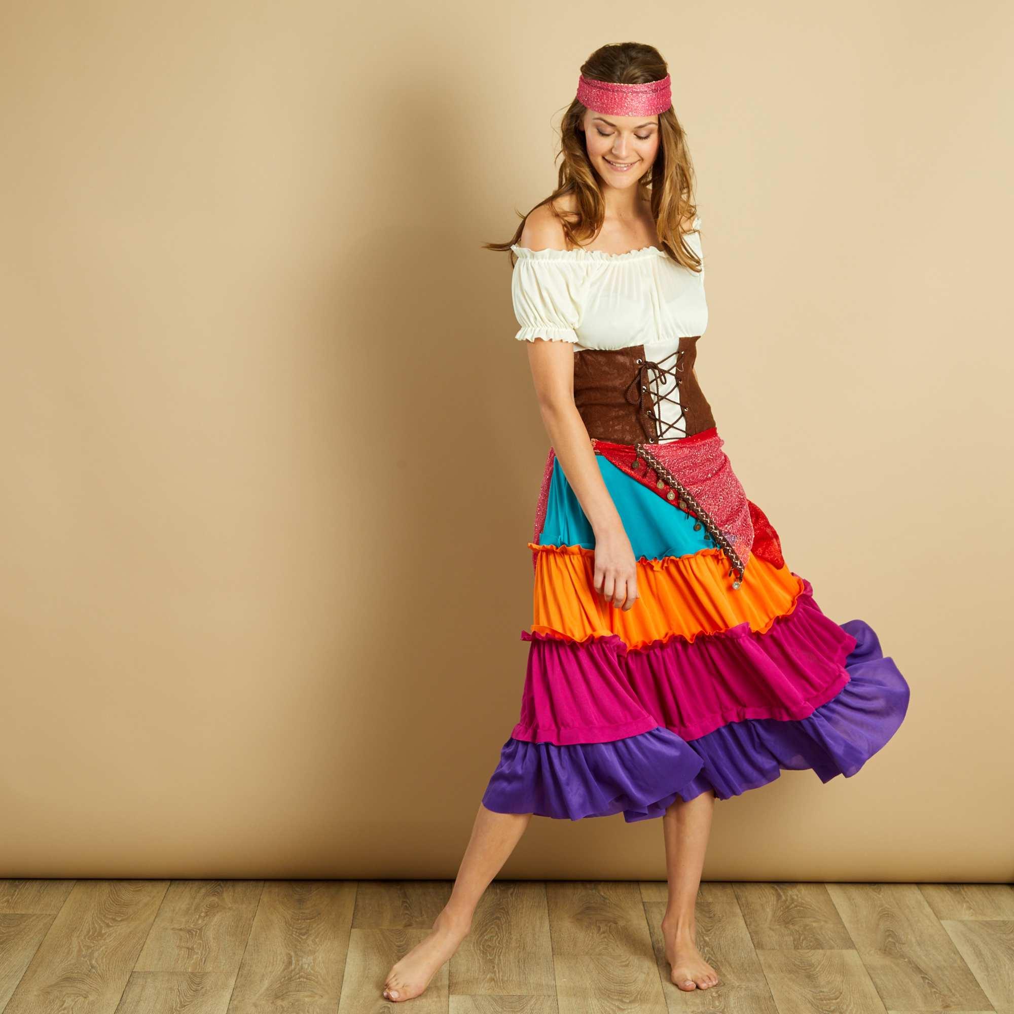 Costume zingara Donna - Kiabi - 29,00€