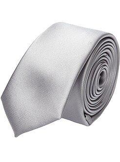 Abiti - Cravatta raso tinta unita