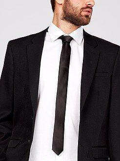 Accessori - Cravatta raso tinta unita