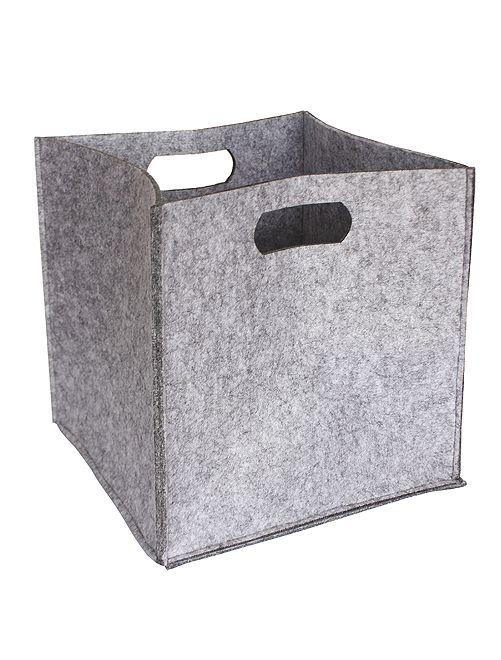 Cubo portaoggetti                                                     grigio