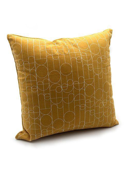 Cuscino bimateriale                                         ARANCIONE
