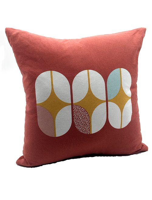 Cuscino bimateriale                                         ROSSO