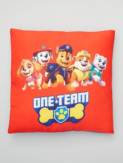 Cuscino double face 'Paw Patrol'                             rosso