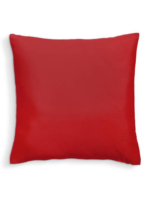 Cuscino tinta unita sfoderabile                                                                             rosso Casa