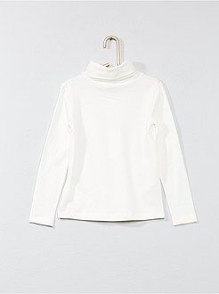 Magliette - Dolcevita tinta unita