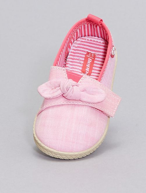 Espadrillas con strappo                             rosa