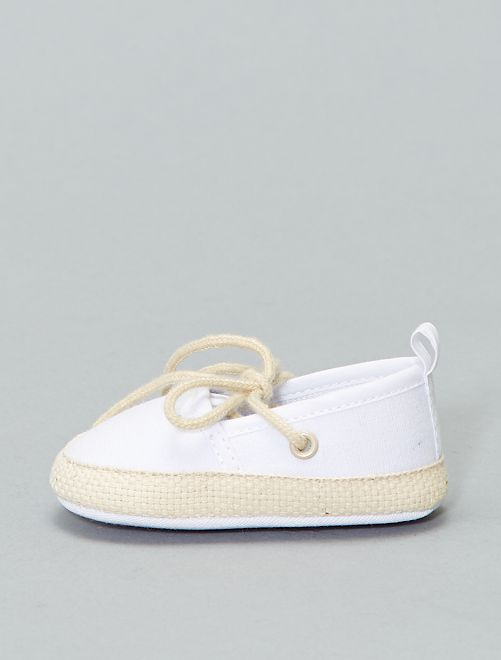 Espadrilles                     bianco Neonata