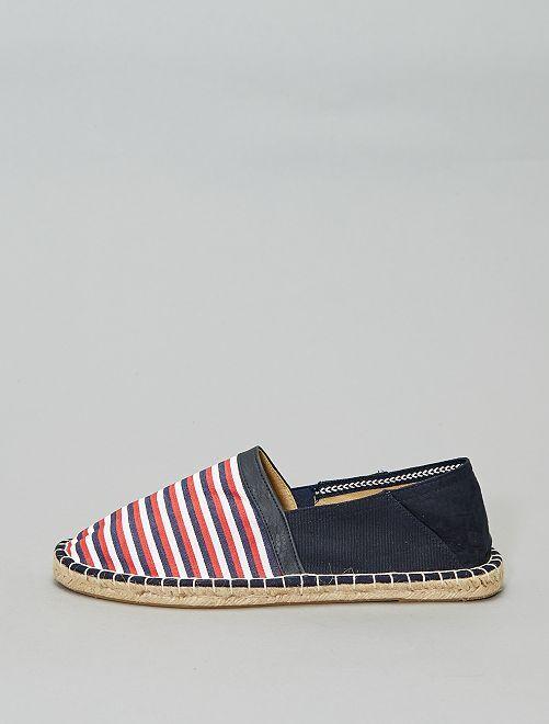 Espadrilles elasticizzate                     a righe Scarpe