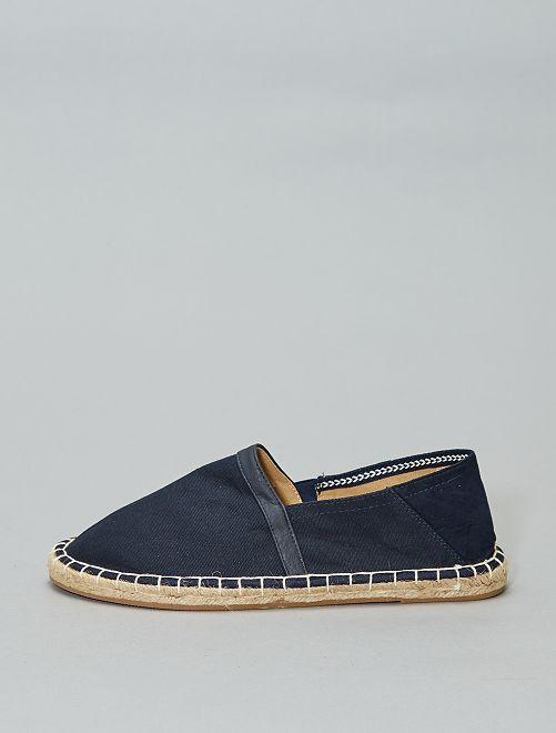 Espadrilles elasticizzate                                 blu navy Scarpe