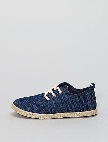 Espadrilles tessuto stile scarpe da ginnastica - Kiabi