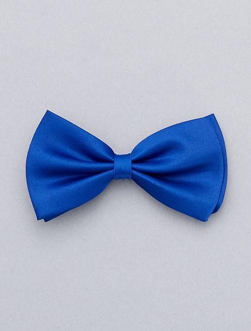 Farfallino tinta unita                                                                             blu
