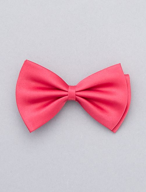 Farfallino tinta unita                                                                             rosa