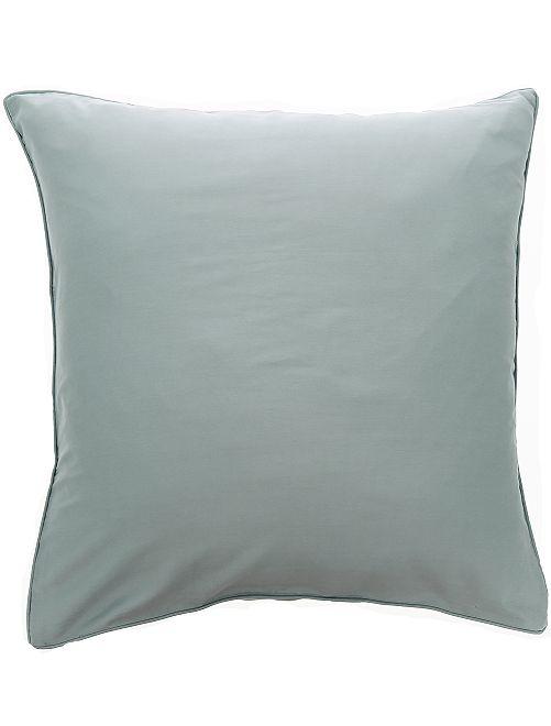 Federa per cuscino in raso di cotone                                                                                         GRIGIO