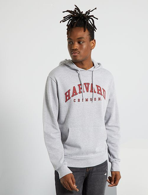 Felpa 'Harvard'                             grigio