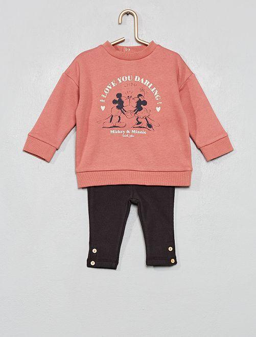Felpa + leggings 'Disney baby'                                         ROSA