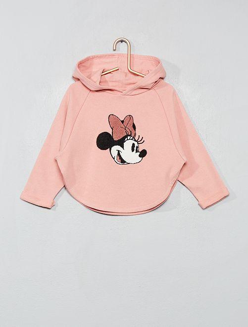 Felpa maglia bouclé 'Minnie'                             ROSA